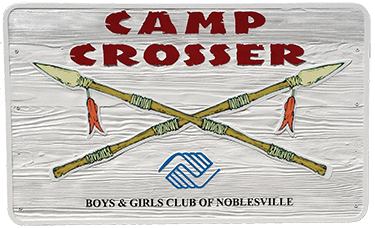 Camp Crosser Sign